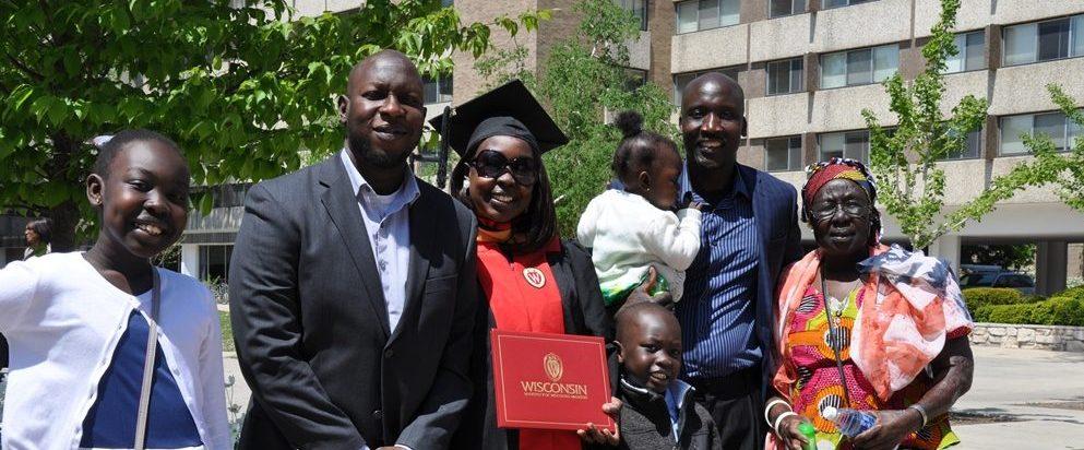 Odyssey alum graduating from UW Madison