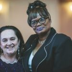 Emily Auerbach and Char Braxton at the 2019 gala