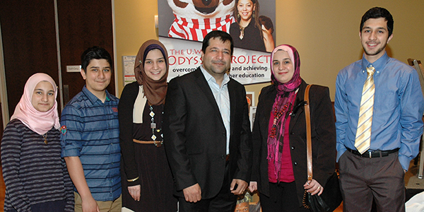 Mustafa and family