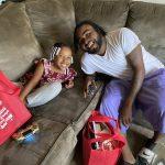 Burnett Reed and daughter Aria