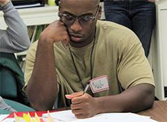 Odyssey Beyond Bars student writing