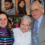 Emily Auerbach with her parents, Wanda and Bob